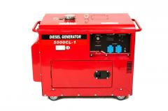 Генератор дизельный WEIMA WM5000CL-1 SILENT (5