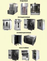 Baking electric ovens