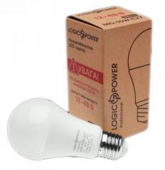 Лампа светодиодная низковольтная универсальная А60 12В-48В 10Вт 4000К Е27