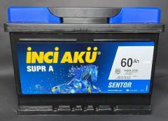 Аккумулятор Inci Aku SuprA 60Ah/540A R+ L1 050 045