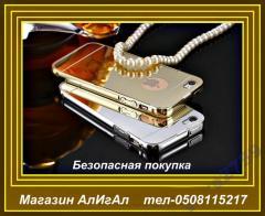 Золотой чехол для iphone 5,5S