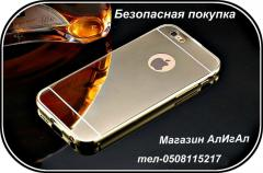 Золотой чехол для IPhone 6/6S
