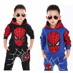 Детский костюм для мальчиков -(Человек-паук) из 2 элементов. От 2 до 7 лет