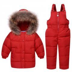 Детский зимний костюм для мальчиков/девочек...