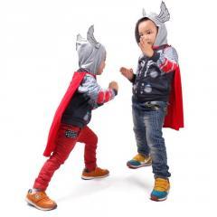 Для маленьких мальчиков толстовки-(Мстители, Железный человек) Хлопок