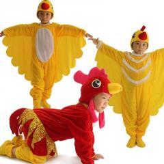 Детская карнавальная одежда унисекс -(Петух, Курица, Цыпленок)