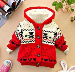 Зимняя куртка-(Миньон) с капюшономдлямалыше