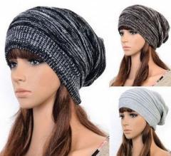 . Модные женские вязанные шапки-(Багги)