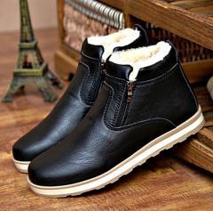 Зимняя,  теплая,  спортивная обувь из кожи...