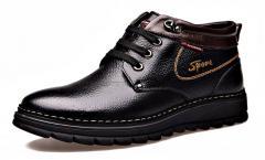 Мужские туфли из натуральной кожи на...