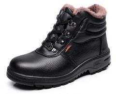 Теплые,  плюшевые кожаные зимние ботинки...