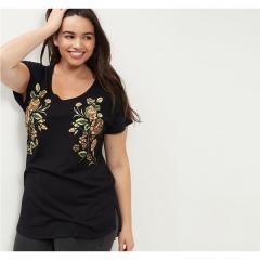 Большие размеры женских футболок.