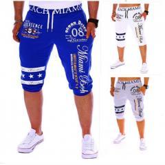Модные мужские спортивные брюки цифровой печати.