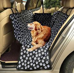 Разборная водонепроницаемая собачья кровать на сиденье автомобиля.