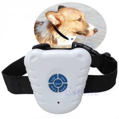 Безопасный ультра звуковой ошейник для дресировки собак.