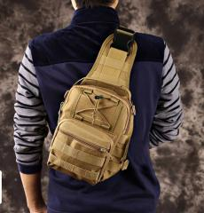 Мужская тактический сумка камуфляж через плечо.