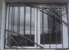 Решетки кованые декоративные