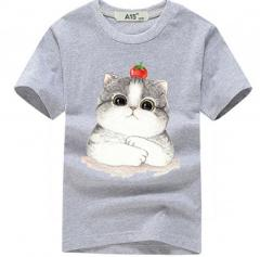 Брендовая хлопковая 3D футболка для мальчиков