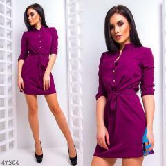 Летние женские модные мини-платье с...
