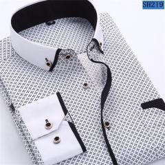 Брендовая мужская рубашка в деловом стиле.