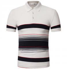 Для мужчин рубашки-(поло) в полоску