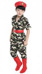 Брендовые камуфляжные комплекты одежды для девочек