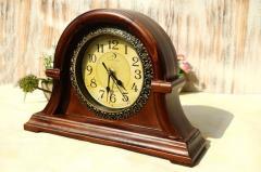 Деревянные настольные цифровые часы-(Reloj).