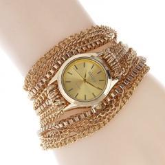 Классические женские наручные ретро часы-браслет