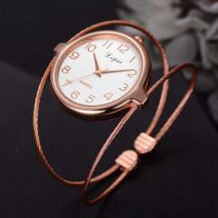 Брендовые женские модные роскошные часы-браслет (LVPAI)