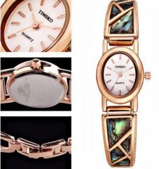 Женские наручные часы браслет со стразами.
