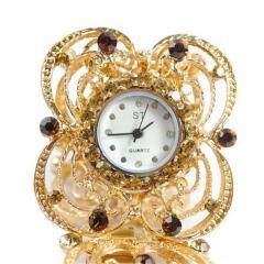 Женские модные часы браслет (Relogio feminino)-лепестки.