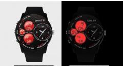 Качественные светодиодные, цифровые, водонепроницаемые мужские часы.