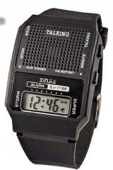 Говорящие наручные часы для пожилых людей (слепым).