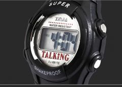 Говорящие музыкальные мужские часы- Будильник