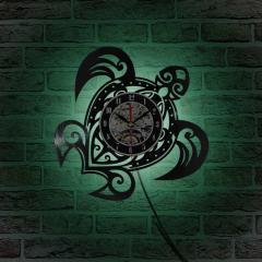 Классические кварцевые настенные часы-Черепаха.