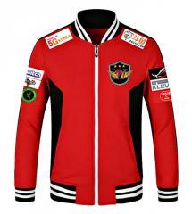Мужская красная куртка-(Факер).