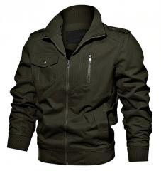 Армейские хлопковые мужские куртки.