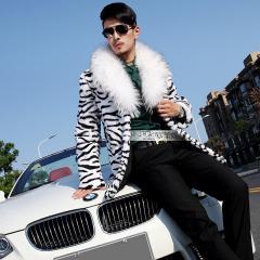 Зимняя мужская норковая куртка.