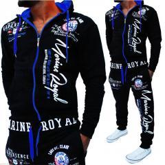 Мужской спортивный костюм-(европейский и американский стиль).