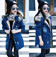 Брендовые,  зимние джинсовые куртки с...