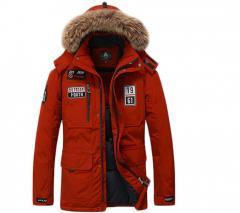 Брендовая, теплая куртка для мужчин-наполнитель