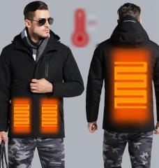Зимняя мужская куртка с инфракрасным...