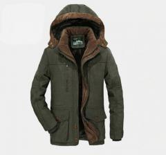 Брендовая зимняястеганая куртка для мужчин.
