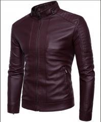 Байкерская кожаная куртка