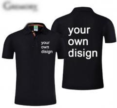 Брендовая мужская весенняя рубашка поло (24 цвета)