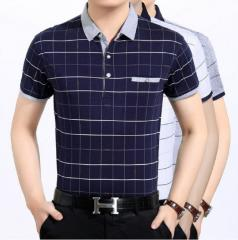 Мужская повседневная рубашка поло
