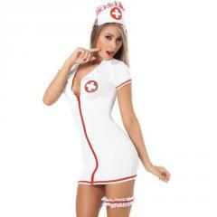 Сексуальное женское платье-медсестры.