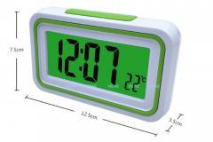 Испанский говорящий ЖК-цифровой будильник для слепых.