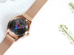 Водонепроницаемые Bluetooth Smart часы для женщин IP68