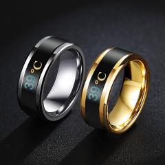 Модное, умное смарт-кольцо для мужчины.